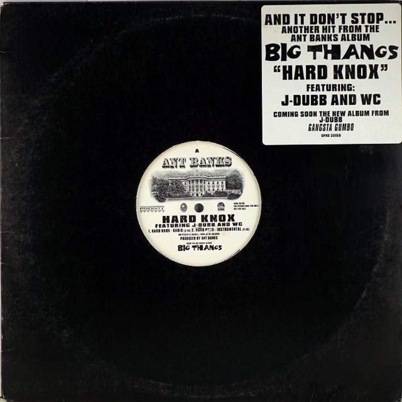 Ant Banks // Hard Knox // WA012B   BASSLINE RECORD