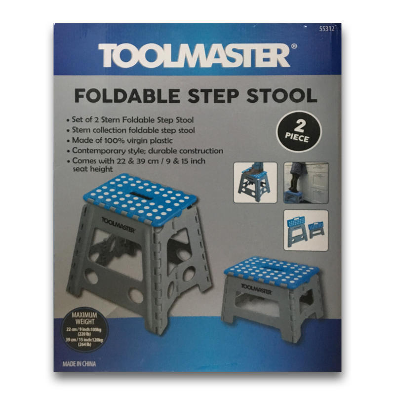 Magnificent Toolmaster Foldable Step Stool Cheddar Pow Onthecornerstone Fun Painted Chair Ideas Images Onthecornerstoneorg