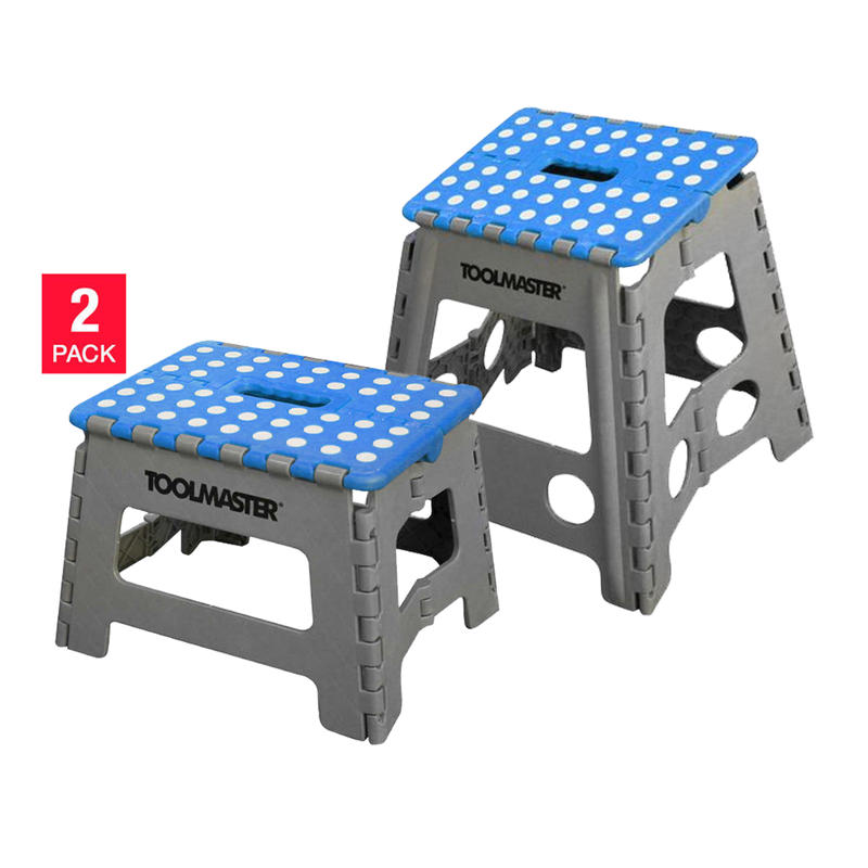 Fantastic Toolmaster Foldable Step Stool Cheddar Pow Onthecornerstone Fun Painted Chair Ideas Images Onthecornerstoneorg