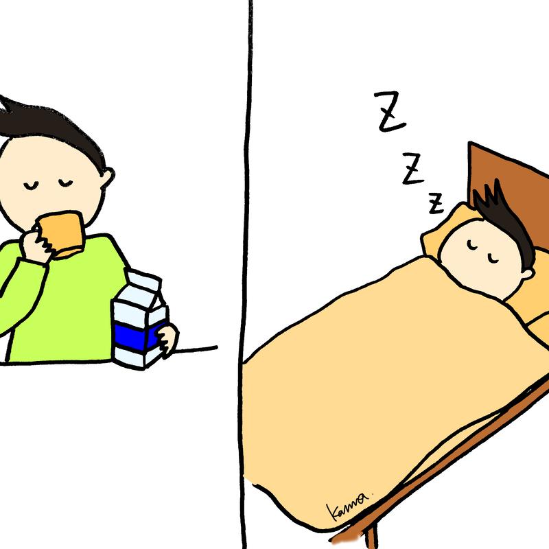 牛乳 寝る 前