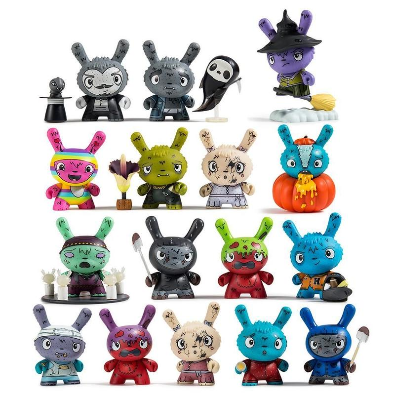 You Crack Me Up Kidrobot Scared Silly Dunny Vinyl Mini-Figure