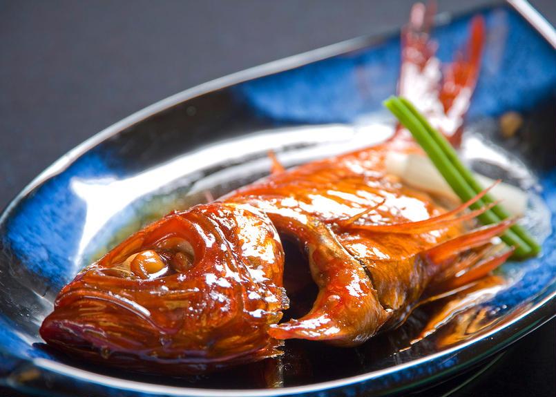 金目 鯛 煮付け