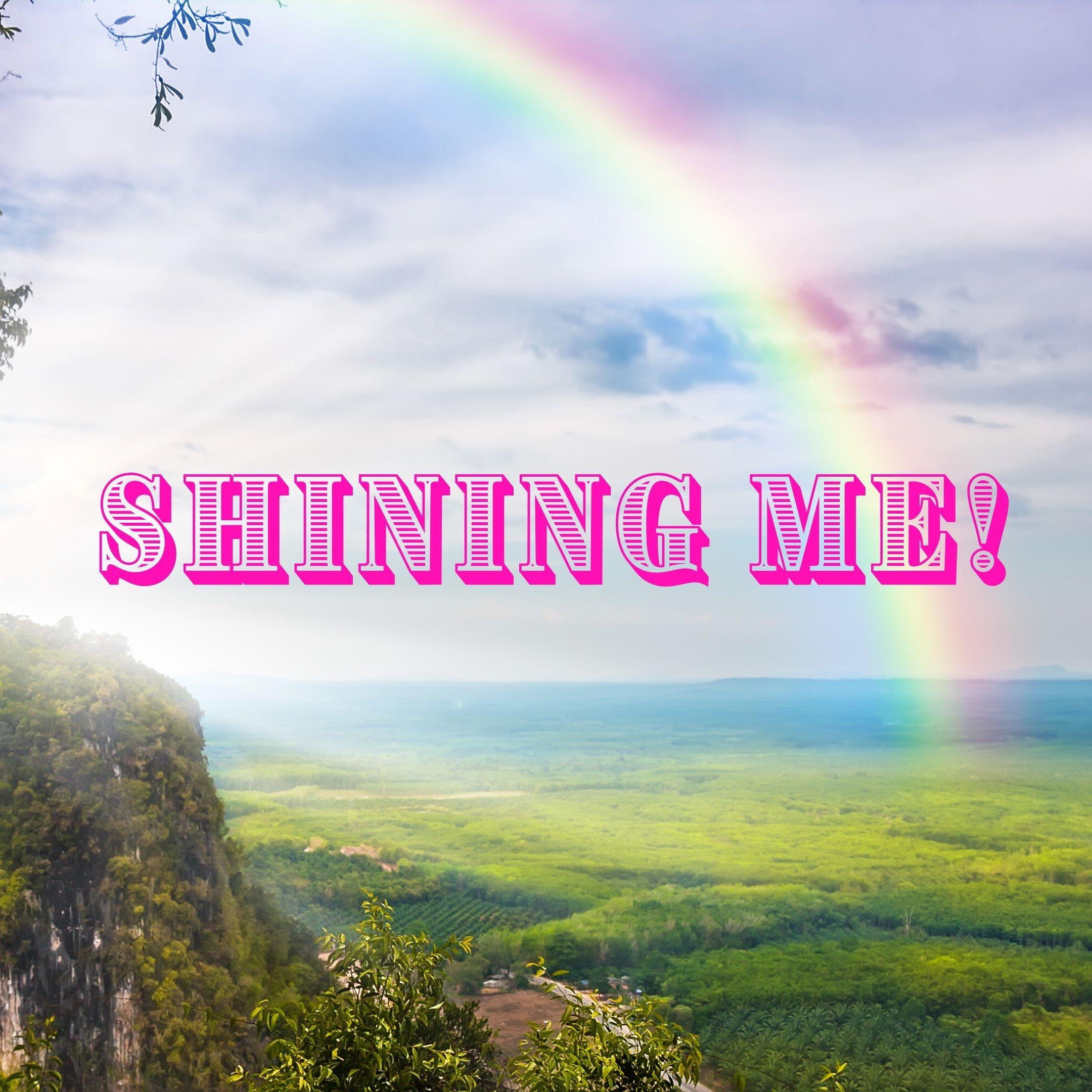 Shining me!
