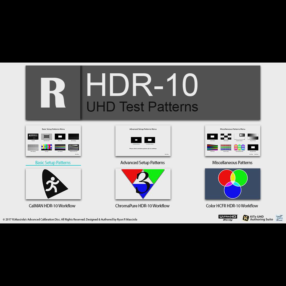 DVS UHD|HDR-10 Video Calibration Disc 2 0「UltraHD Blu-ray Disc版」
