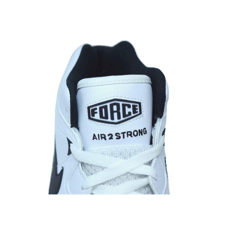 bcfbf7f84ae83 NIKE AIR2 STRONG MID WHITE BLACK ナイキ エアマックス ストロ...