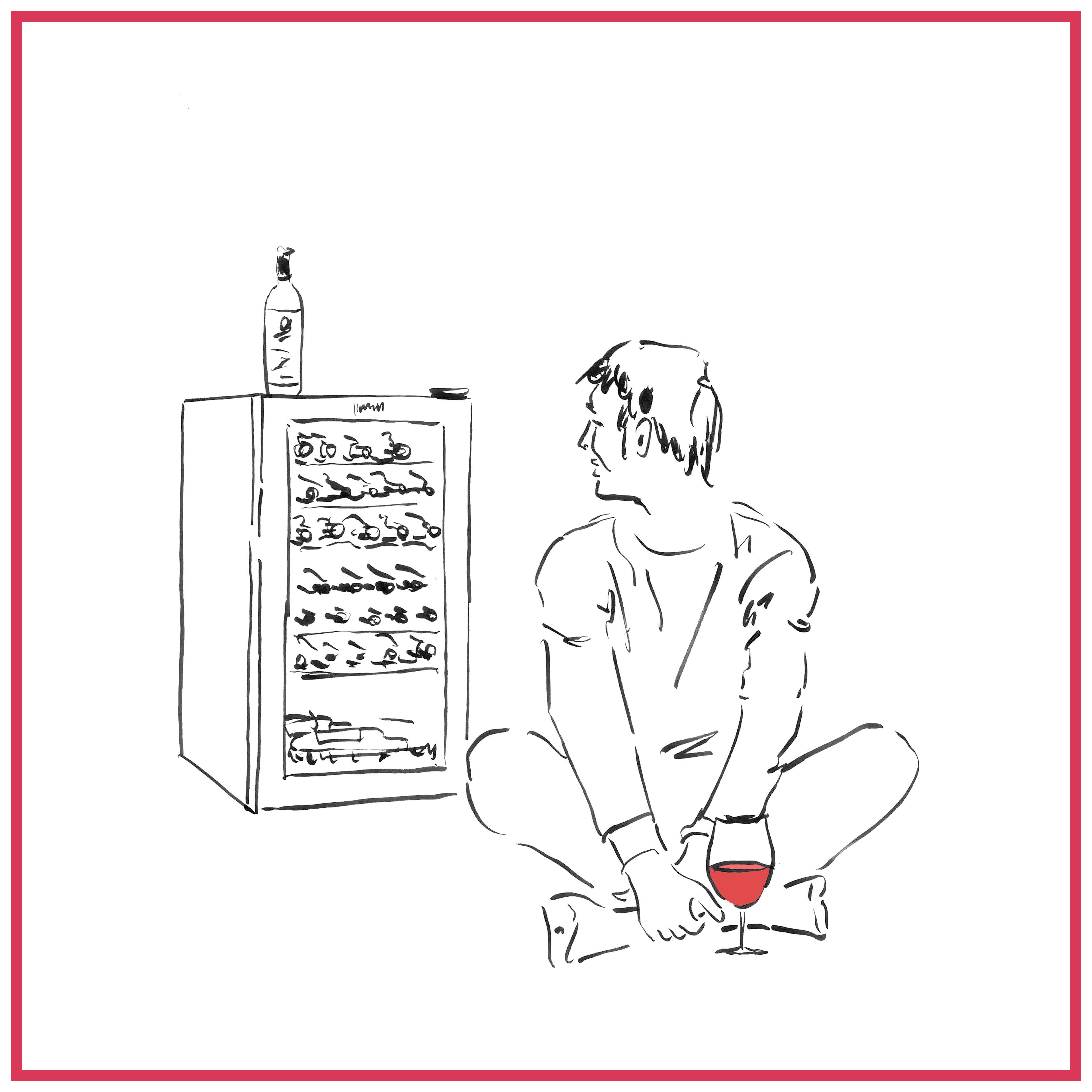 1等1名さまはワインセラー
