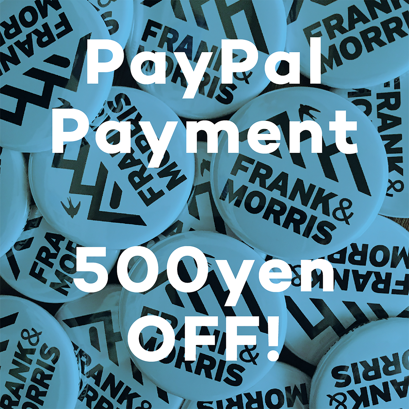 PayPal 500円OFF!