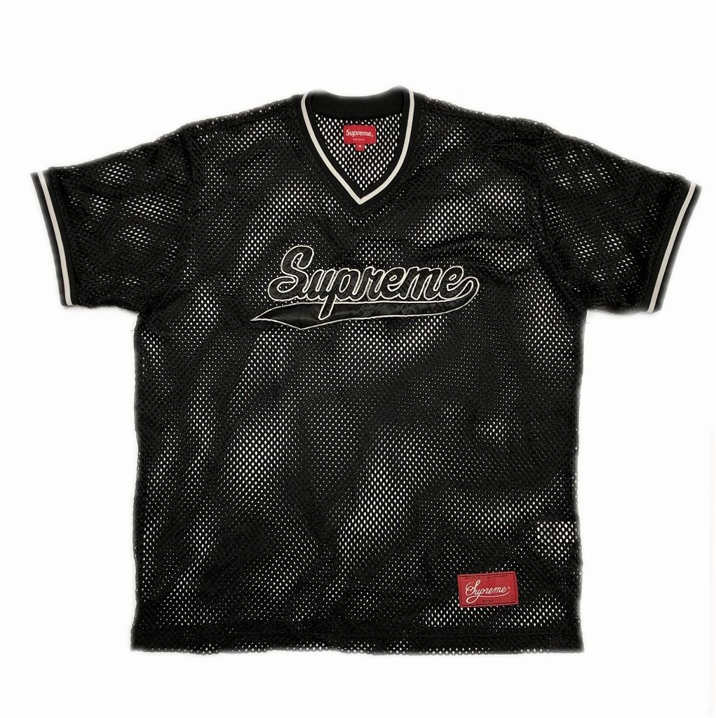 supreme-mesh-baseball-top-black-m-18ss