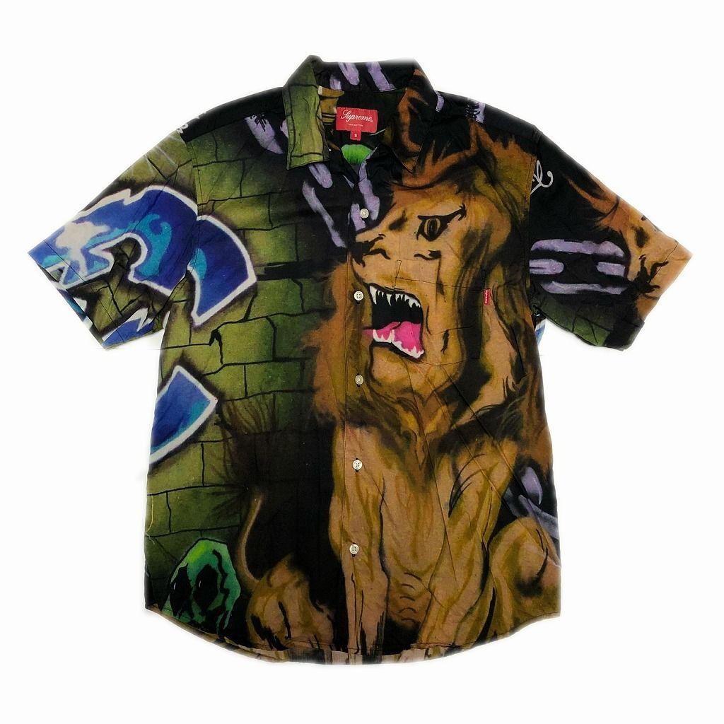 supreme-lion-s-den-shirt-s-18ss
