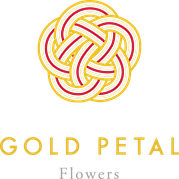 Gold Petal Flowers