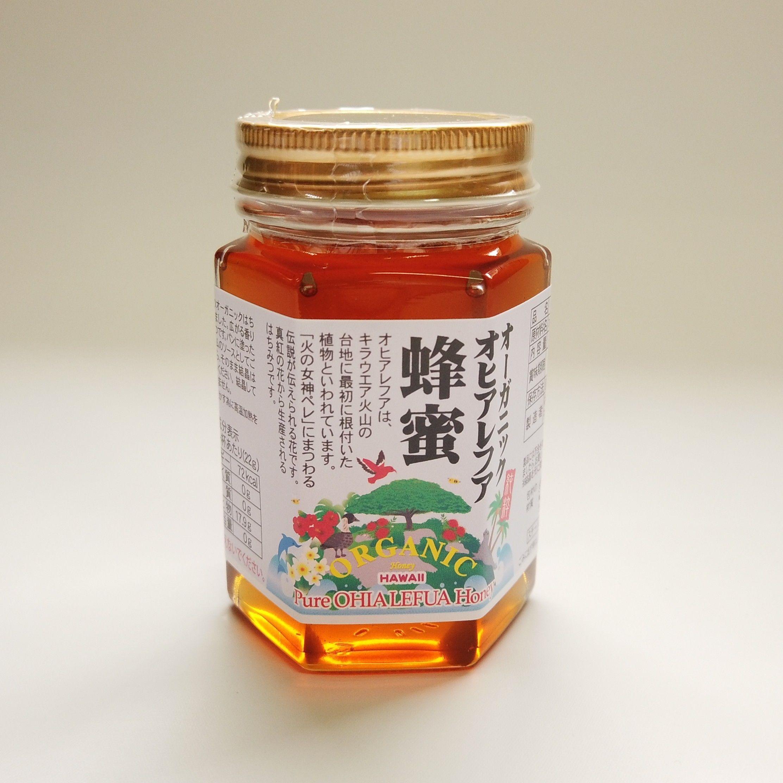ハワイ産オーガニック オヒアレフア蜂蜜 180g