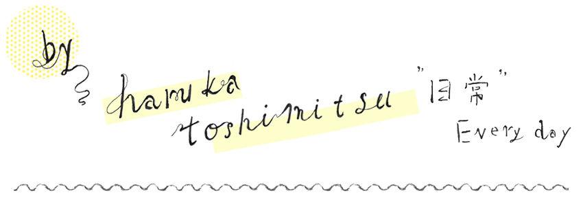 harukatoshimitsu webshop