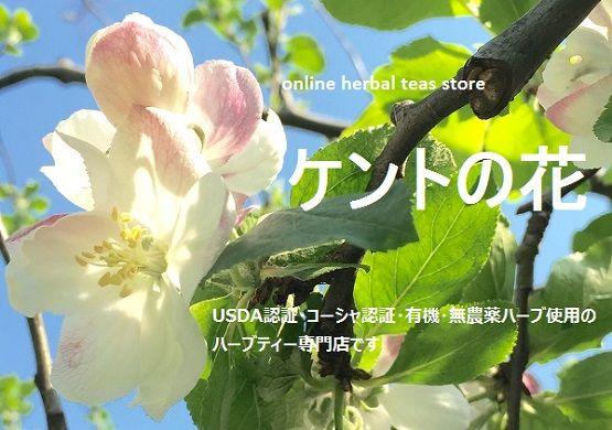 online herbal teas store ケントの花 [USDA認証オーガニックほか有機・無農薬ハーブ使用のハーブティー専門店です]