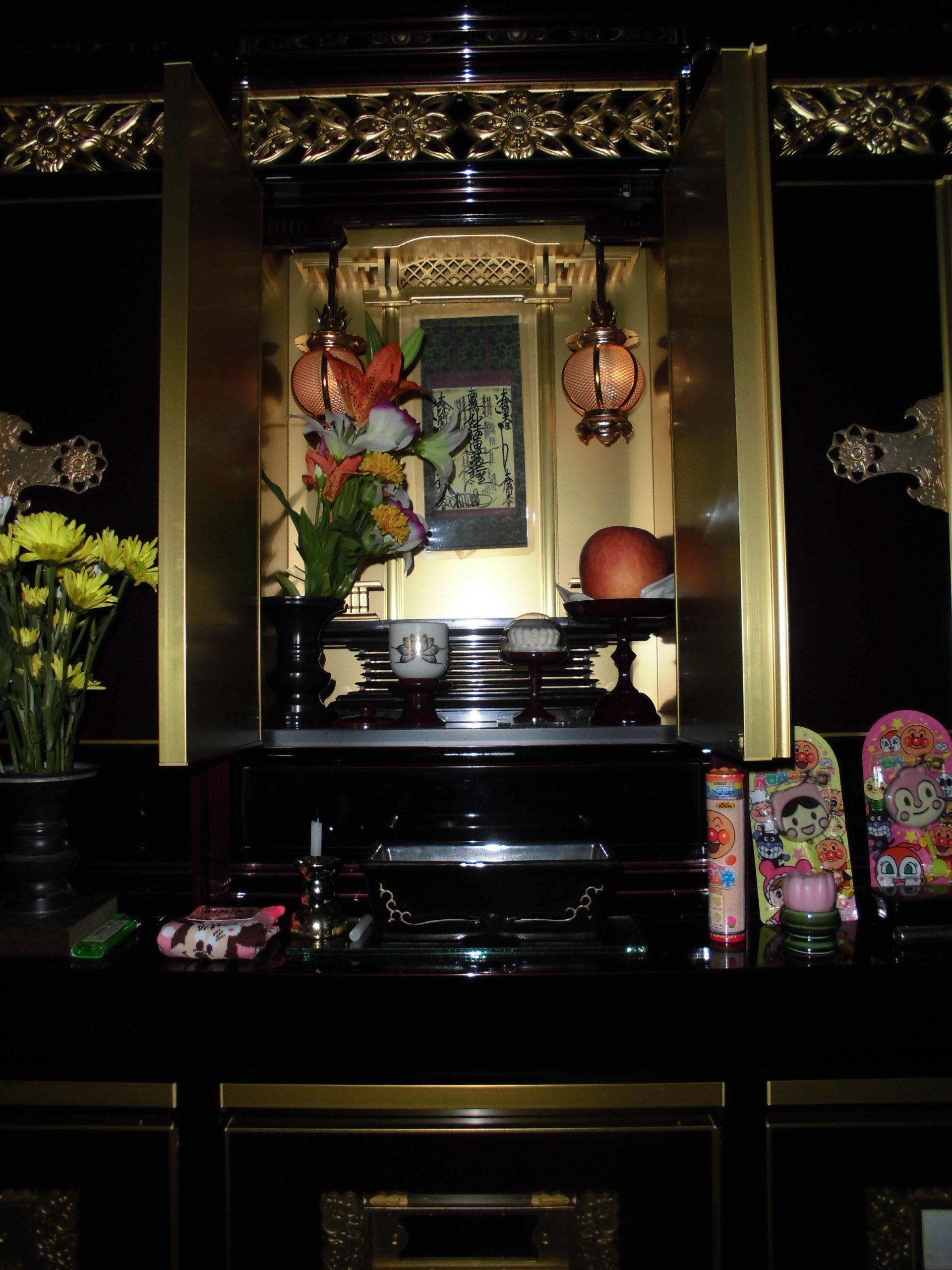 神棚のお供え物を交換するタイミング   ミニ仏壇・ …