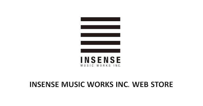 INSENSE MUSIC WORKS INC. WEB STORE