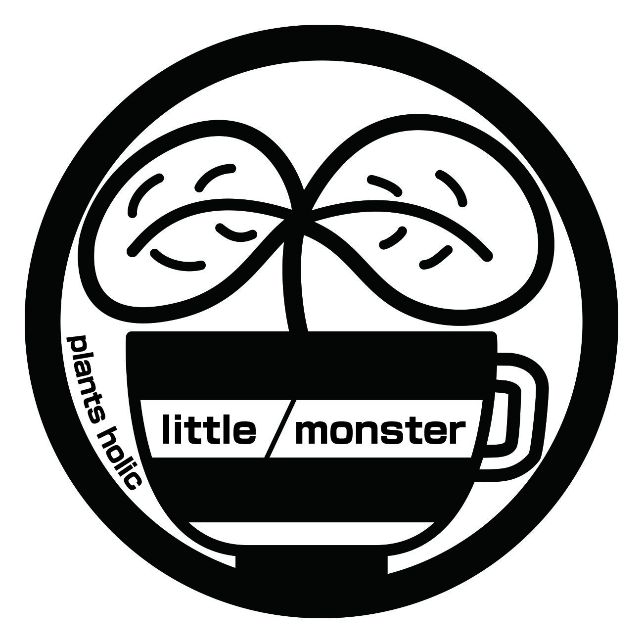 "plants holic     ""little monster"""