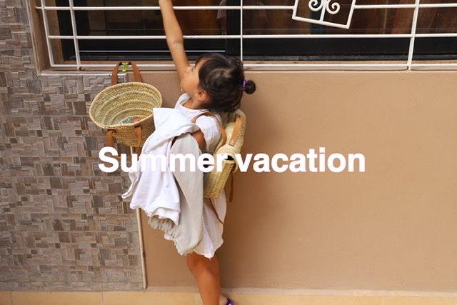 ※夏休みのお知らせ