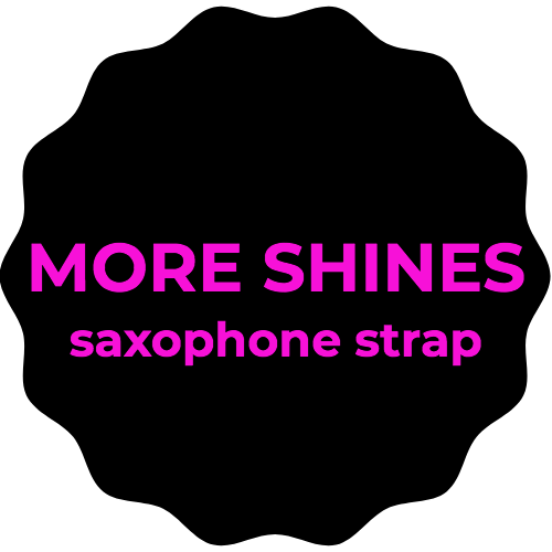 More Shines Saxophone Strap
