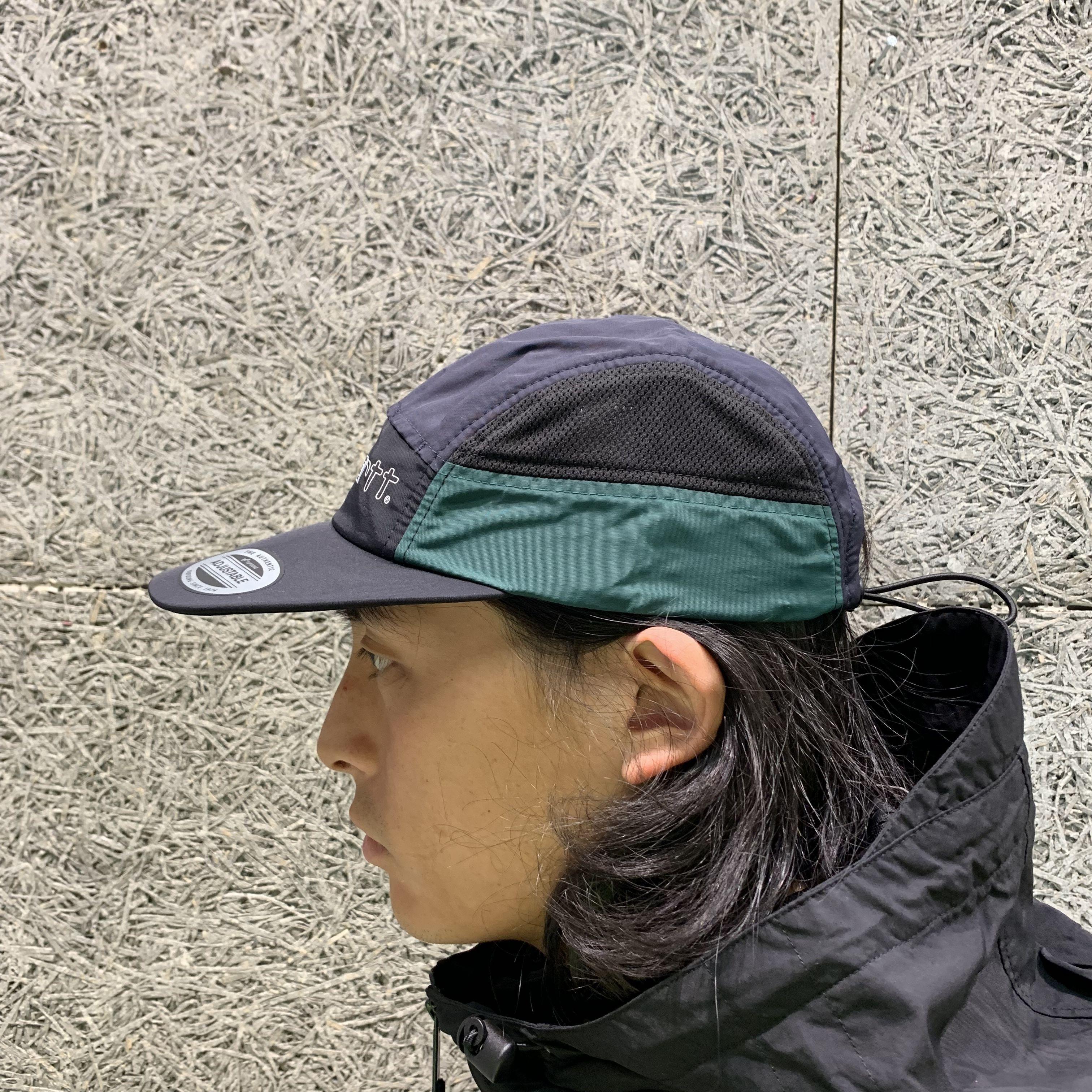 8dab5af51 CARHARTT WIP TERRACE CAP BLACK/GREEN