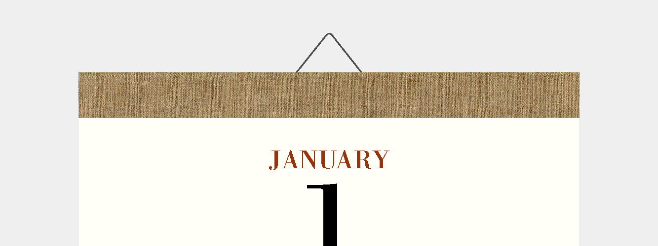 カレンダーのお届け時期について