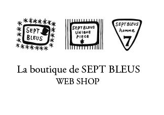 La boutique de SEPTBLEUS