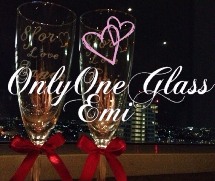Only one glass Emi