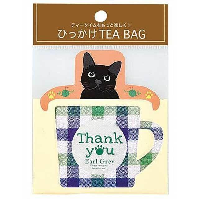 黒猫TEA BAGプレゼント