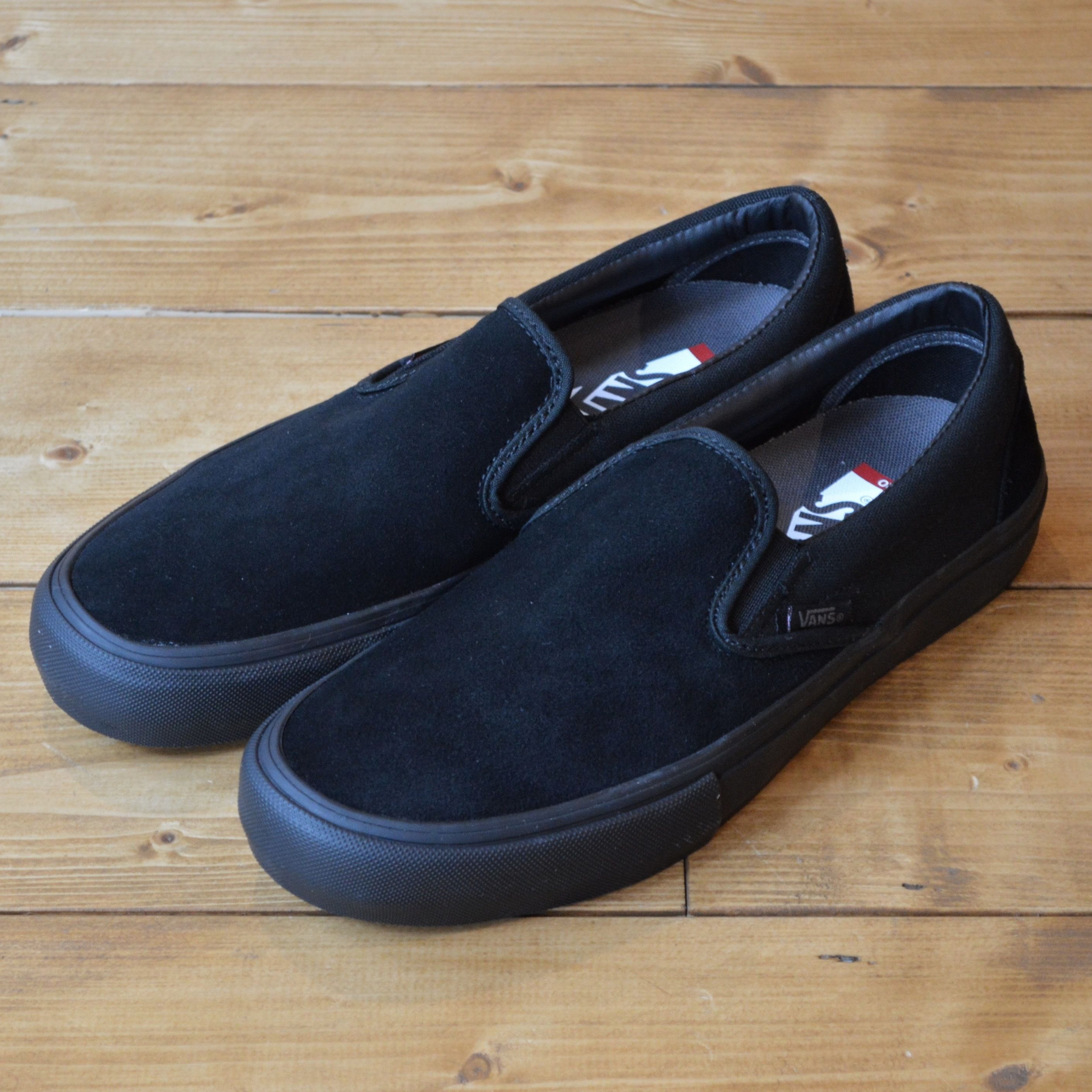 159e6192c1990f VANS SLIP-ON PRO BLACKOUT