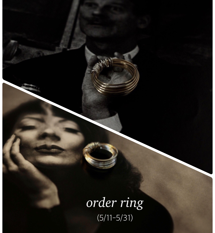 --Order ring--