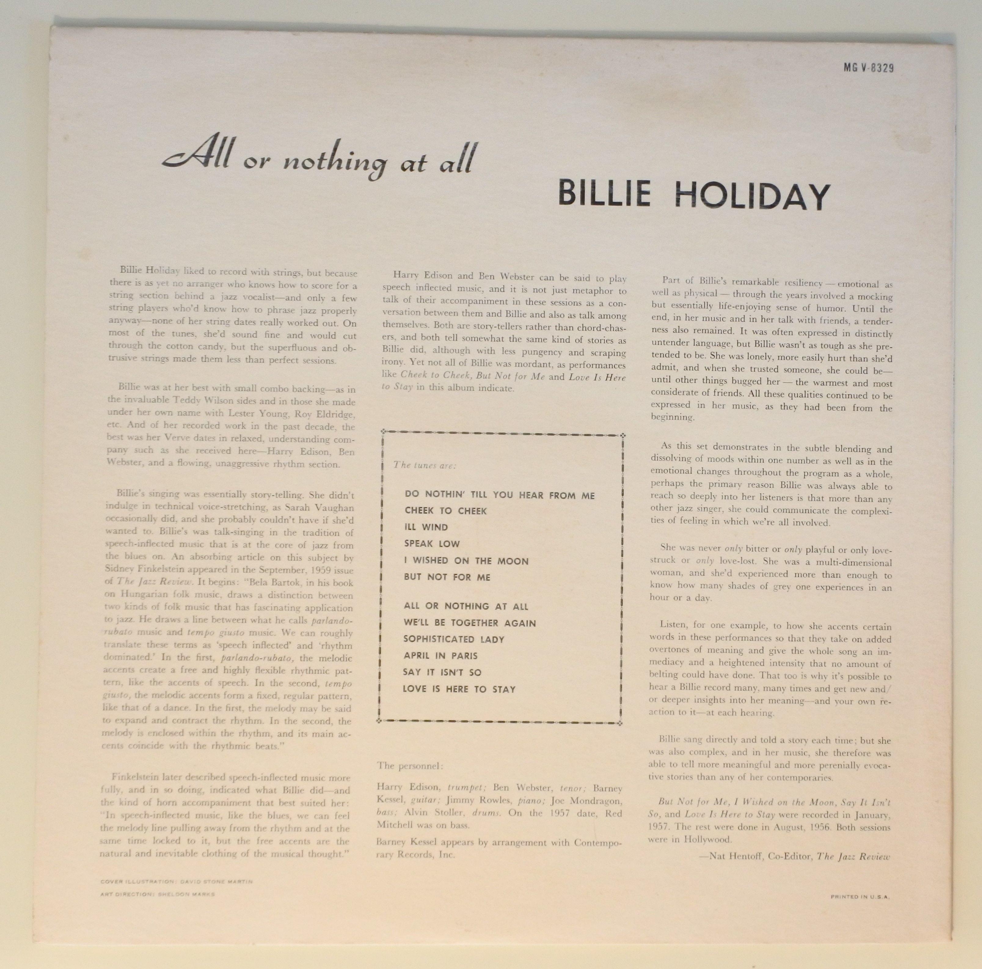 billie holiday - speak low lyrics | azlyrics.biz
