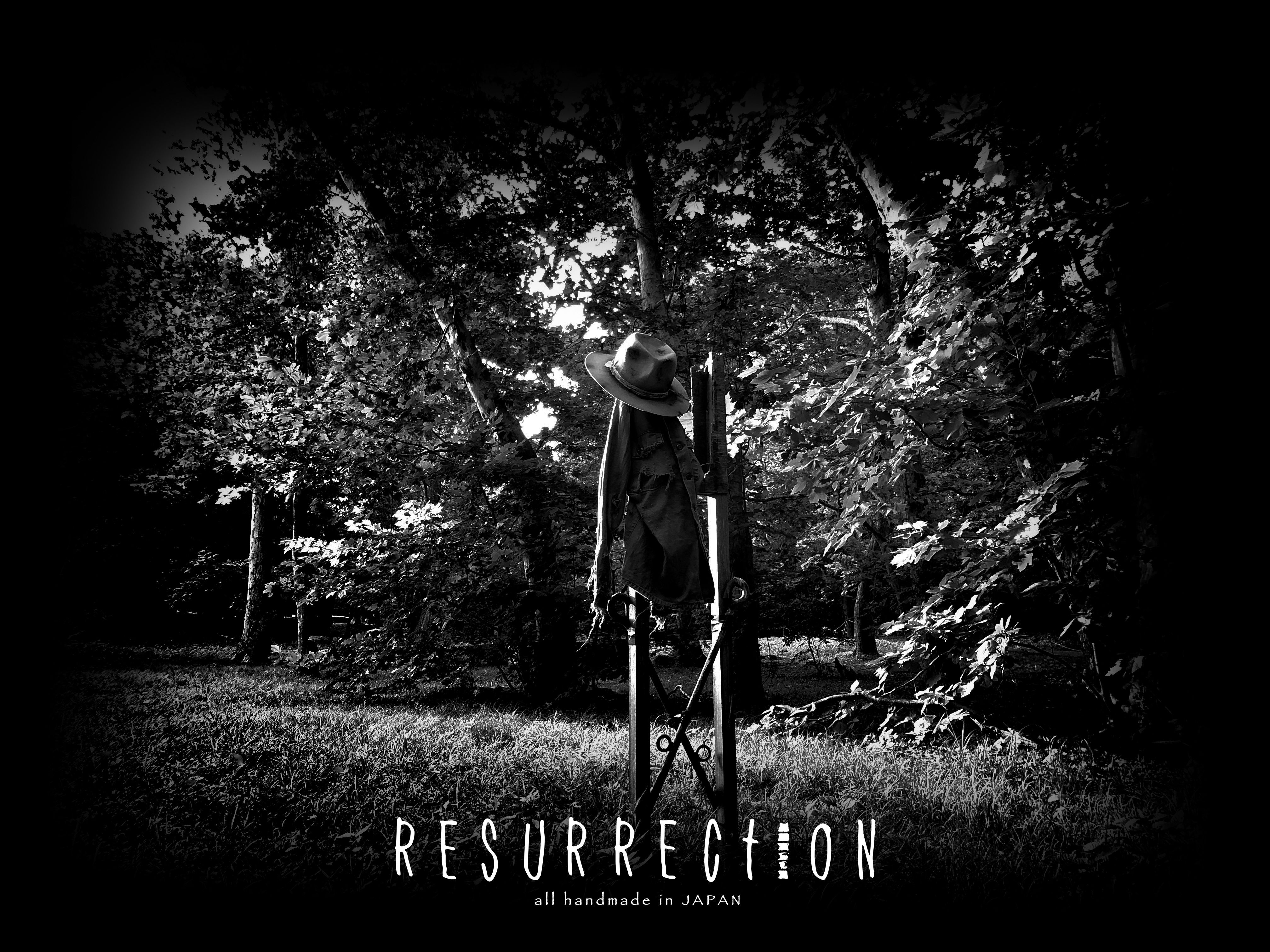 RESURRECTION -all handmade in JAPAN-