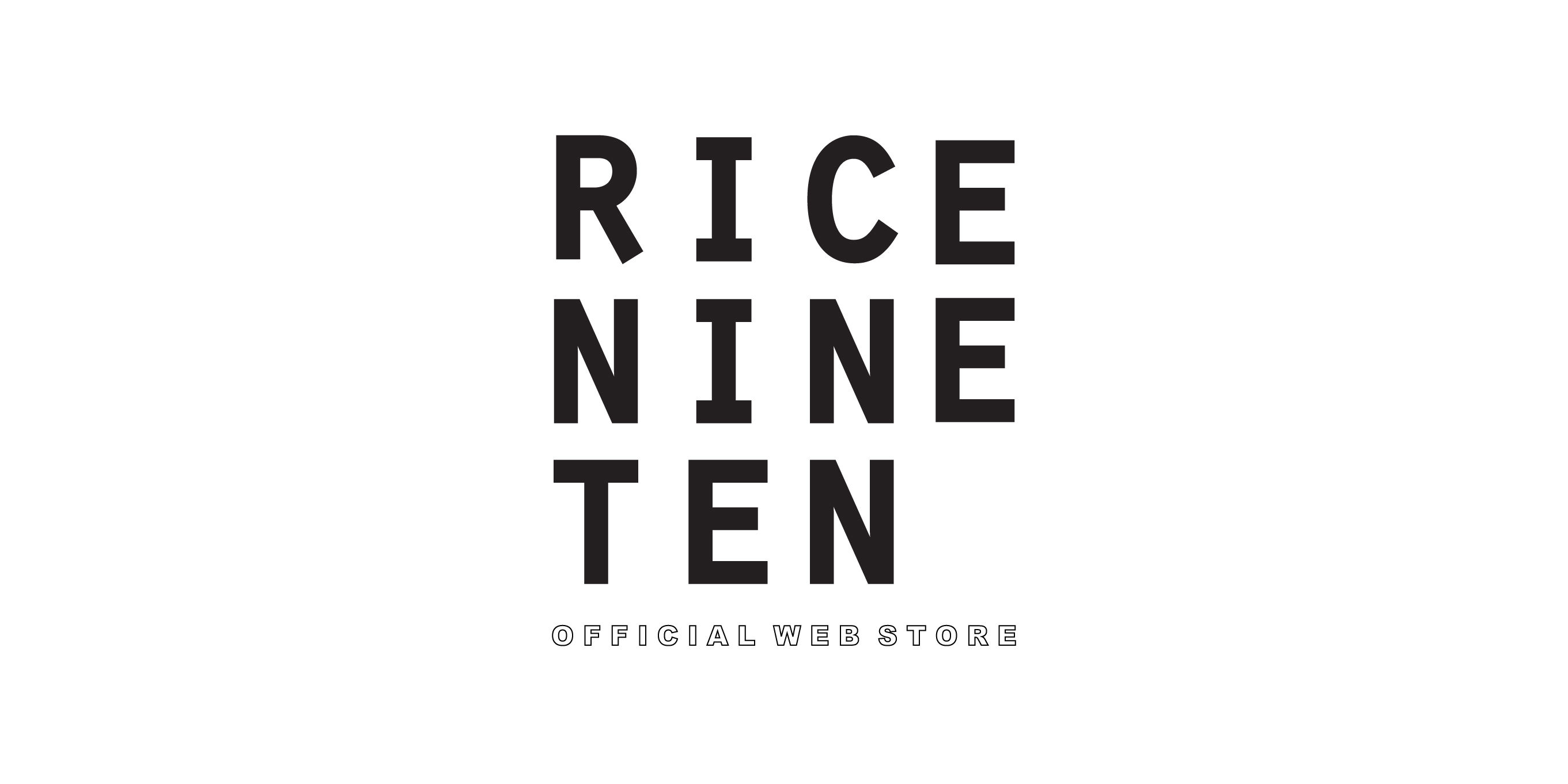 RICE NINE TEN  WEB  STORE