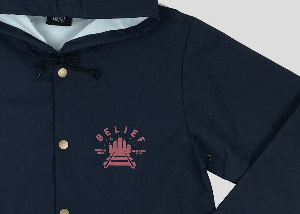 Belief queensboro jacket navy rulez by rawdrip for The queensboro shirt company