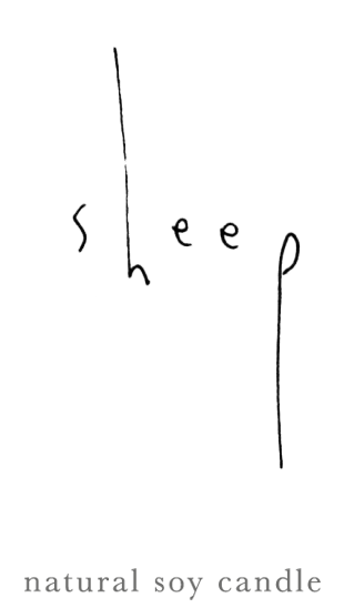 sheep_soycandle