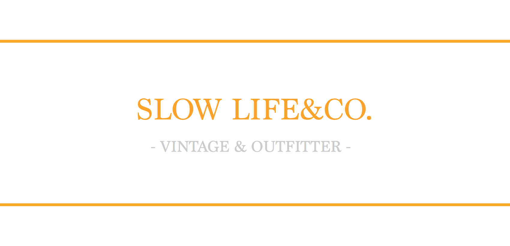 SLOW LIFE&CO.