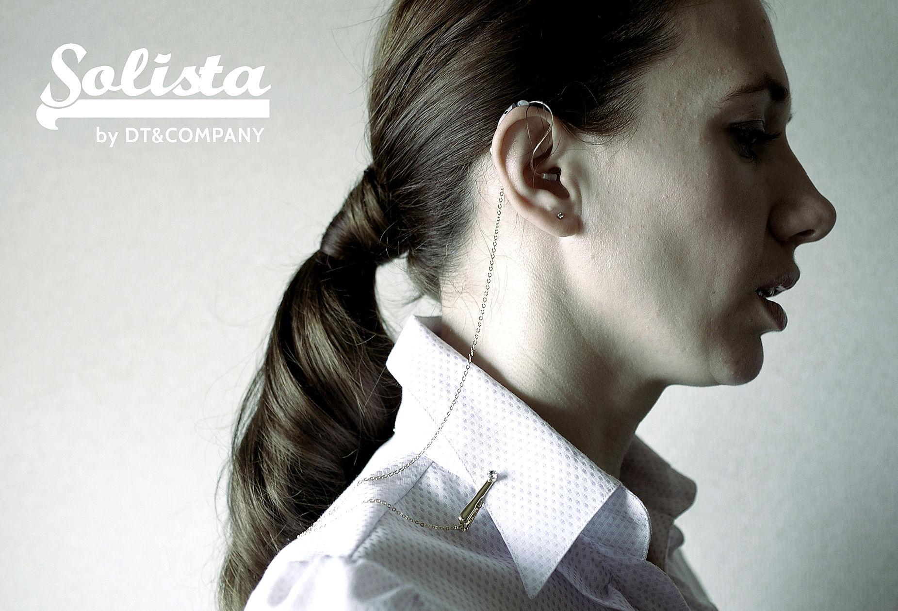補聴器落下防止ストラップ Solista