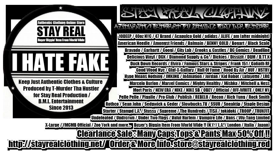 Stay Real Clothing : Authentic Hip Hop & Street Clothing Online Store (ステイ リアル クロージング : オーセンティック ヒップホップ アンド ストリート クロージング オンライン ストア) NEW ERA (ニューエラ) / Mitchell & Ness (ミッチェル アンド ネス) / FRANK 151 (フランク ワンフィフティーワン) / 10DEEP (テンディープ) / Acapulco Gold (アカプルコ ゴールド) / MIGHTY HEALTHY (マイティー ヘルシー) / Crooks & Castles (クルックス アンド キャッスルズ) / Dissizit (ディスイズイット) / OFF-WHITE (オフホワイト) / Hood by Air (フッド バイ エアー) / Stussy (ステューシー) / Undefeated (アンディフィテッド) / OBEY (オーベイ) / PRO CLUB (プロ クラブ) 等の本物 / 正規ルート商品を通販にてご購入頂けます。