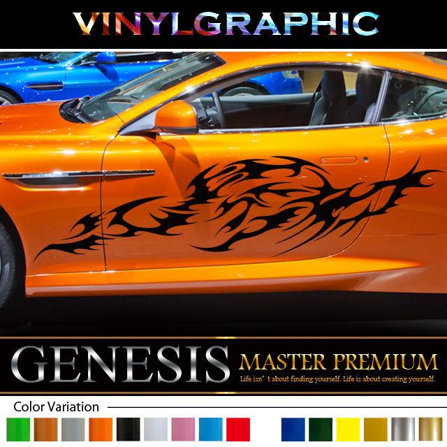 Tribal car sticker 198 car vinylgraphic custom
