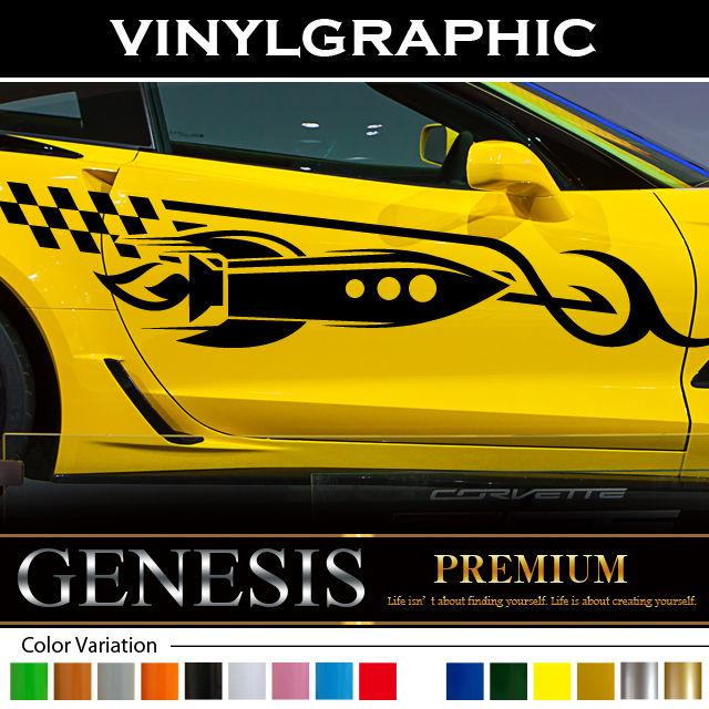 e9b87dcc75 Missile car Sticker 73 car vinylgraphic Custom ...