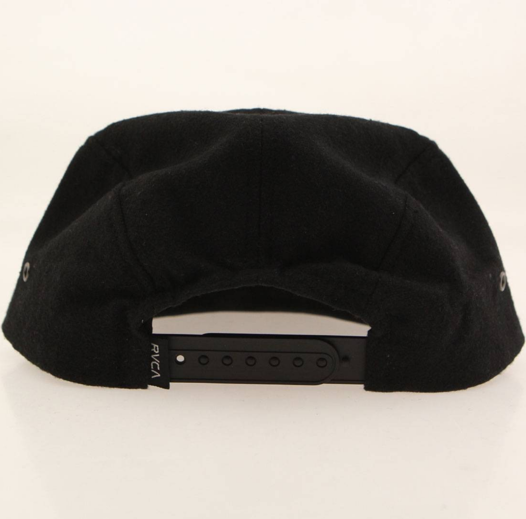 deae910f RVCA Granger 5 Panel Cap (black) Clothing | Wha...