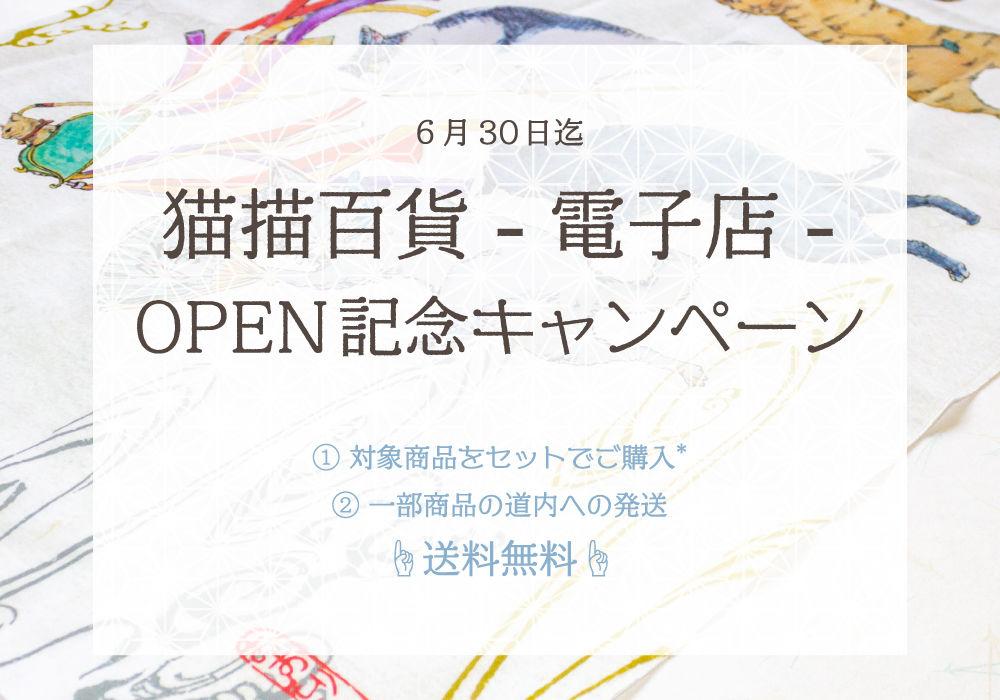 OPEN記念キャンペーン