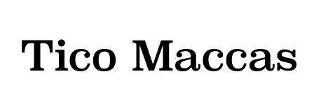 Tico Maccas