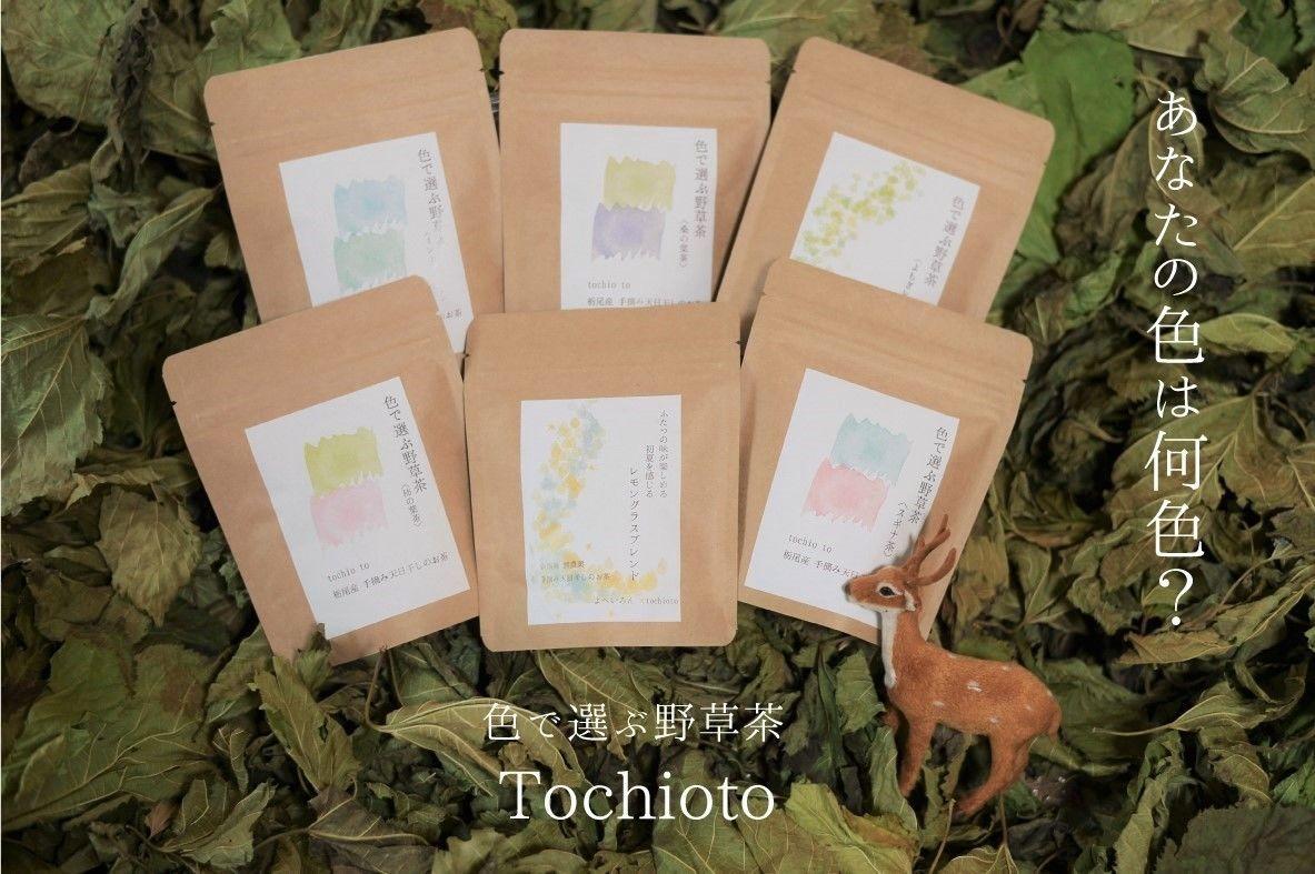 色で選ぶ野草茶 Tochioto