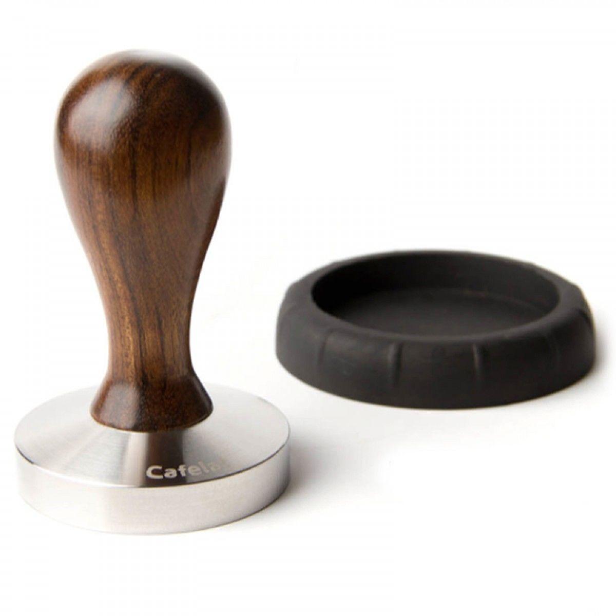 Cafelat Drop Tamper Violet Wood 58mm Convex ス