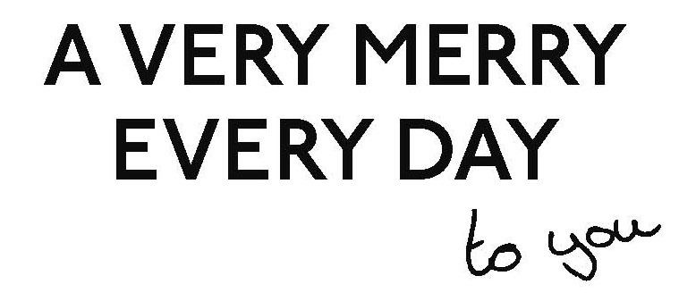 A VERY MERRY EVERY DAY