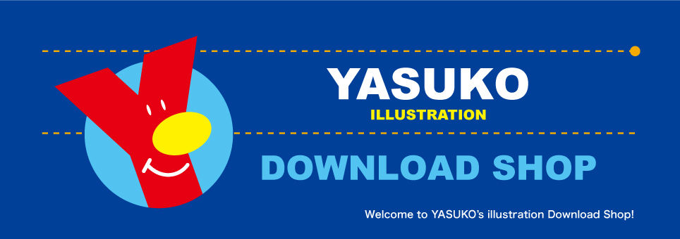 YASUKO ILLUSTRATION DOWNLOAD SHOP